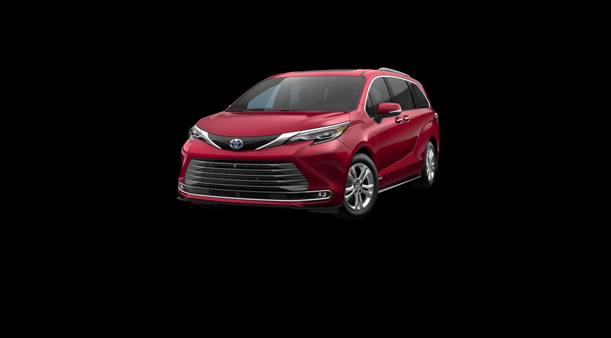 New 2021 Toyota Sienna Platinum